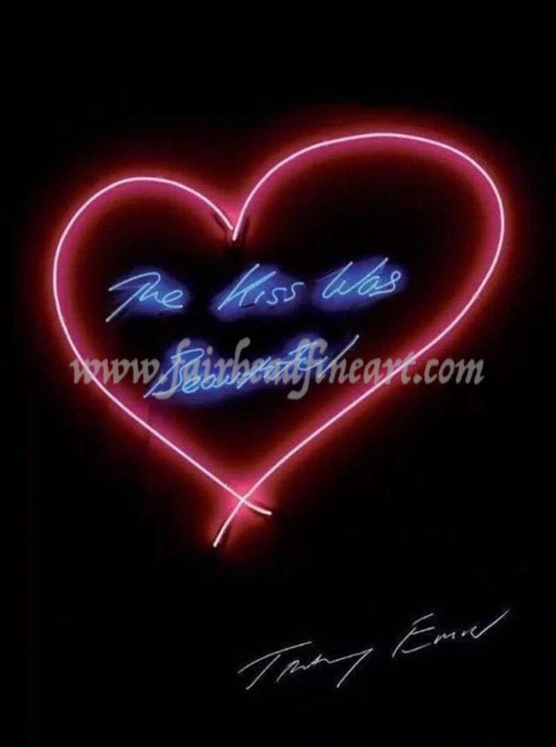 Tracey Emin The kiss was beautiful