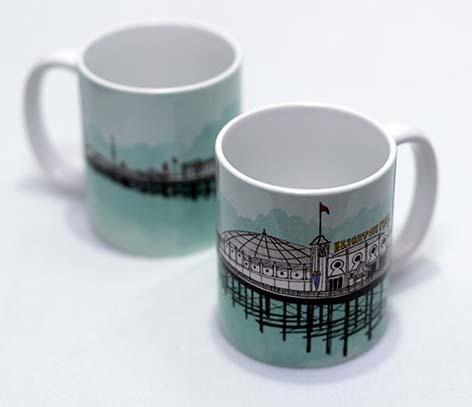 Pier Turquoise Mug