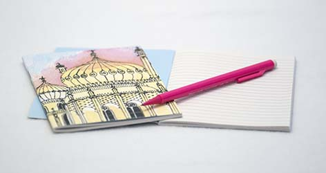Golden Pavilion Notebook