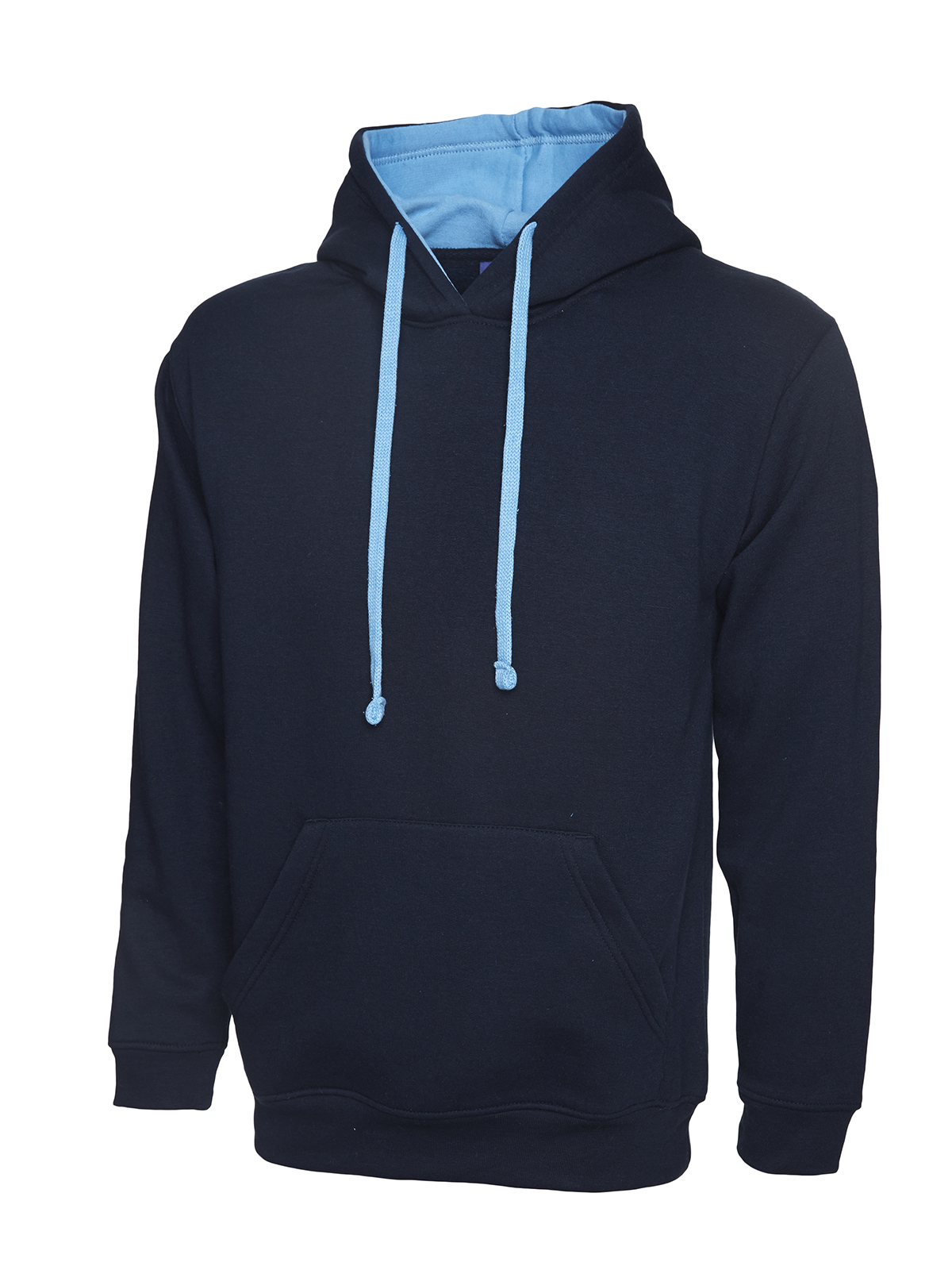 Uneek UC507 Contrast Hooded Sweatshirt B