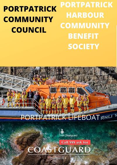 Porpatrick Harbour, Dumfries and Galloway - The Portpatrick Harbour Community Benefit Society