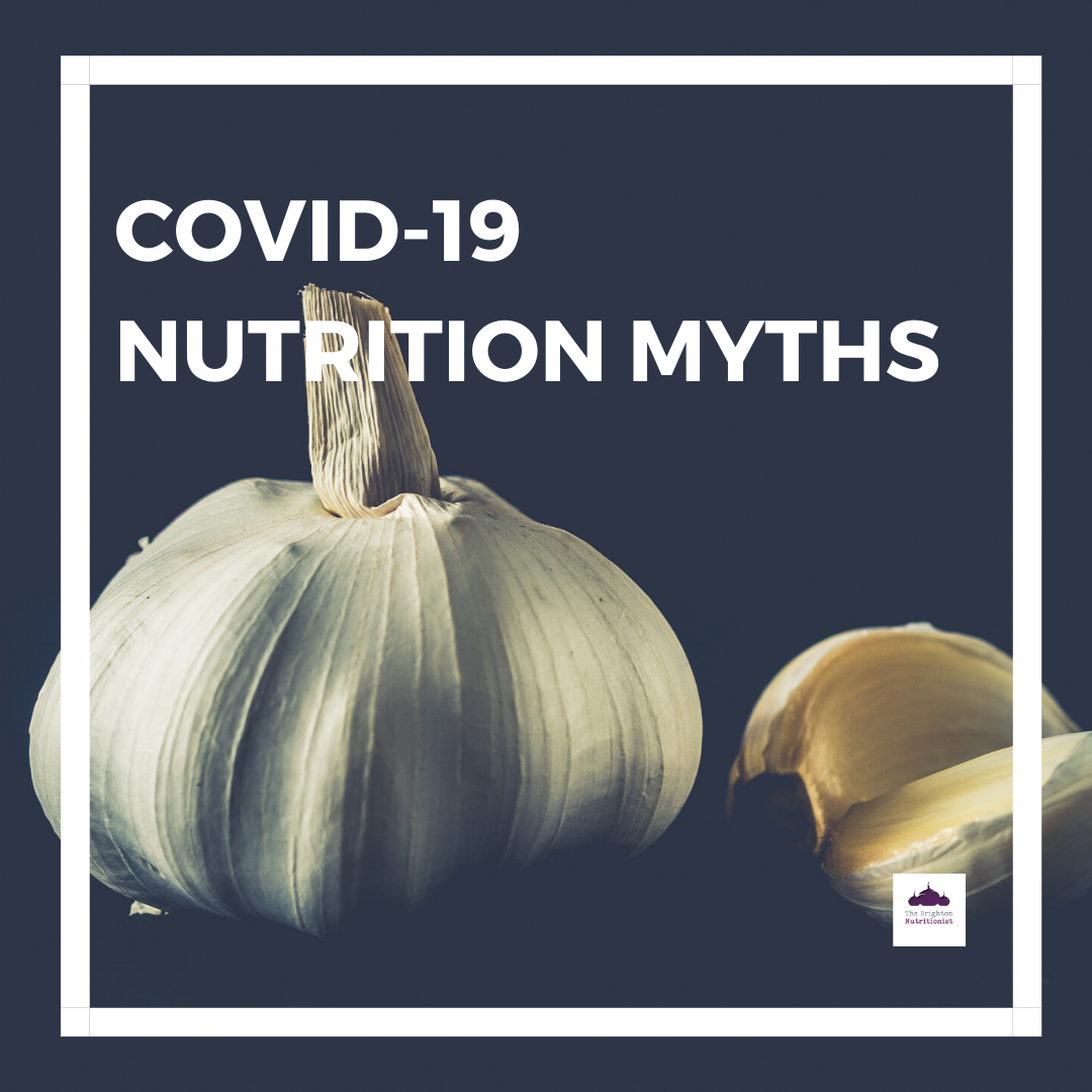 COVID-19 NUTRITION MYTHS