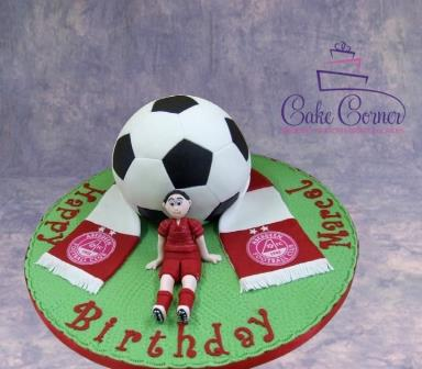 Aberdeen FC Cake