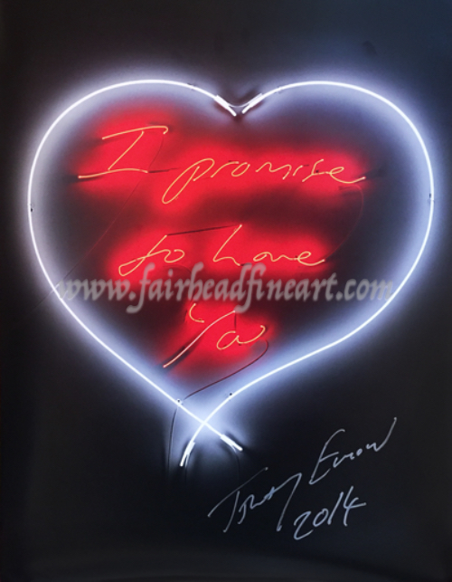 Tracey Emin I promise to love you