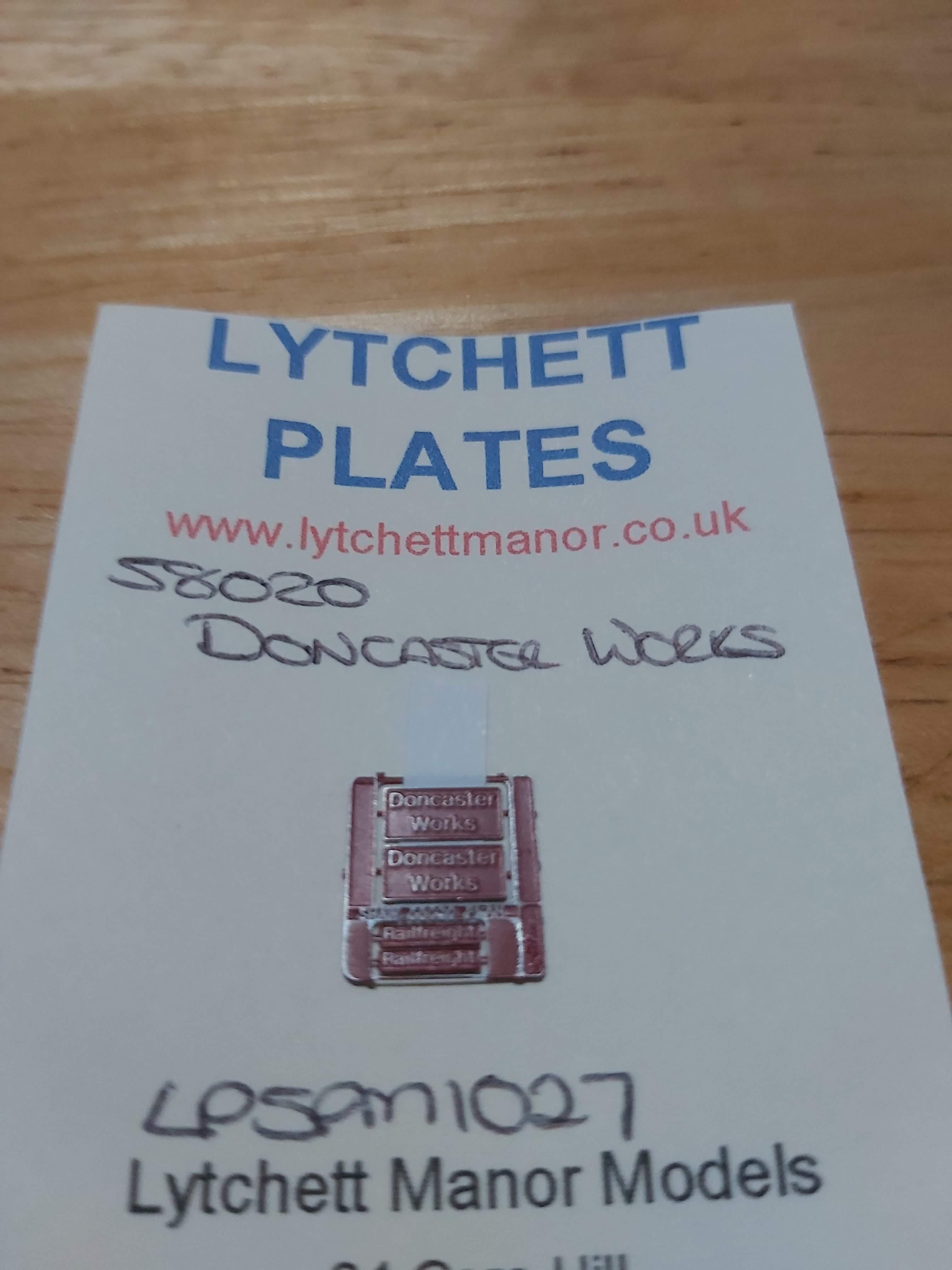 58020 Doncaster Works