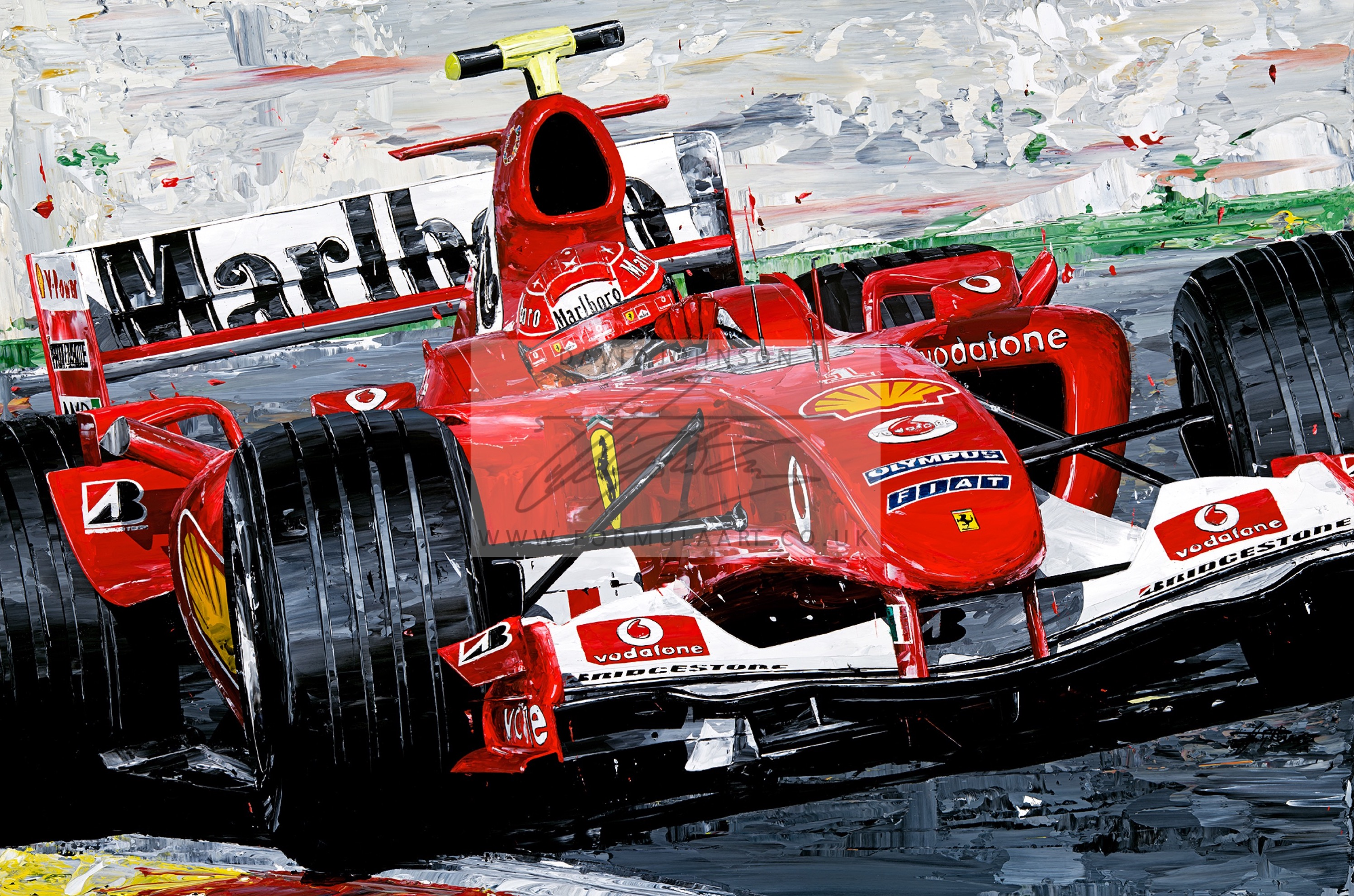 Michael 2004 Champions Giclee