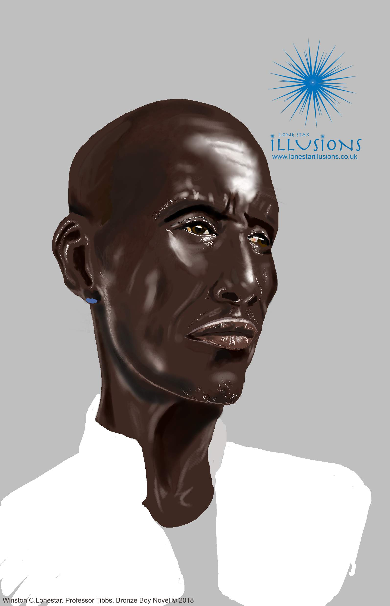 concept art, digital illustration, digital art, black art, black illustration, african elder, positive black images, graphic novel concepts, African art