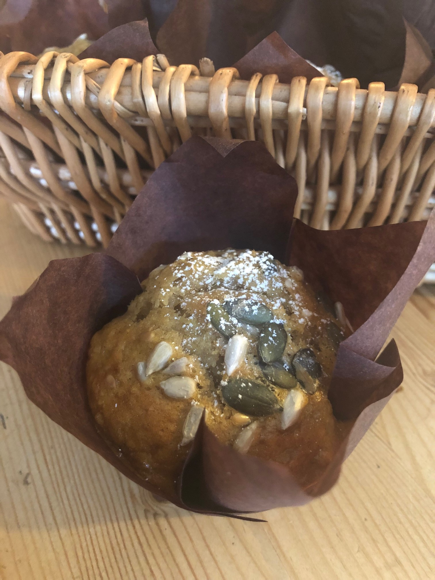 Mixed Seed Courgette Muffins