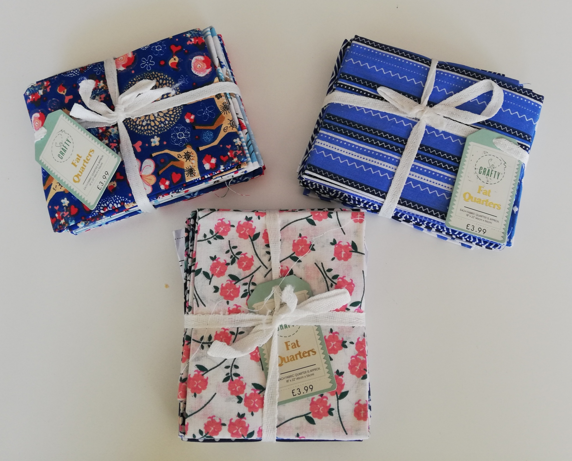 Fat Quarters (new stock received)
