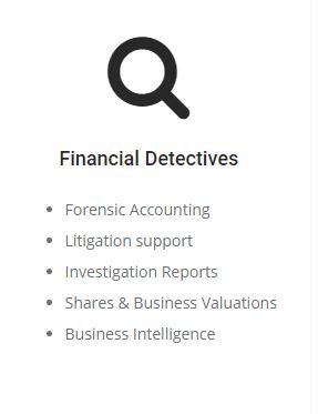 financial detective services