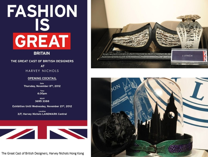 The great cast of British Designers, Harvey Nichols Hong Kong  JLYNCH luxury belts handmade sustainable leather accessories london british design fashion