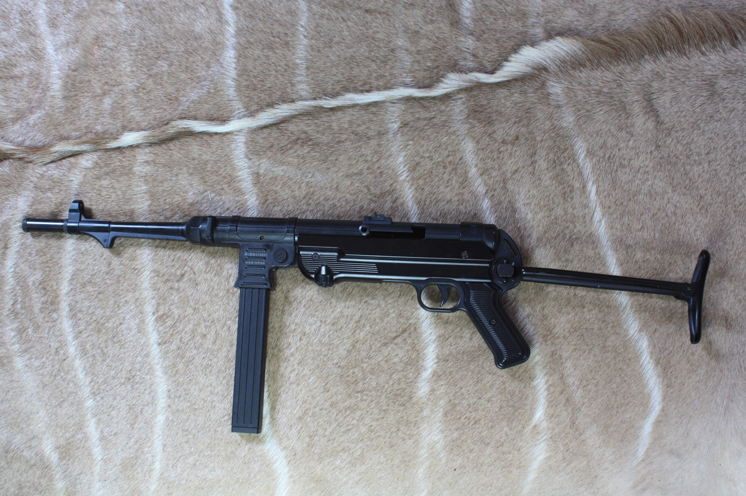 GSG .22 L.R. SCHMEISSER MP40' SELF LOADING SPORTING RIFLE