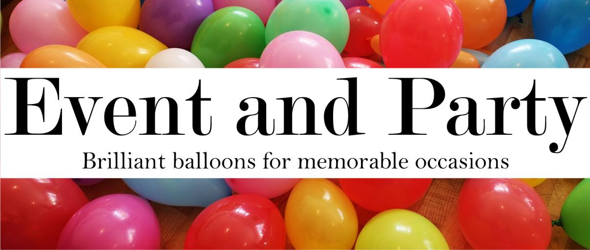 Event and Party Balloons