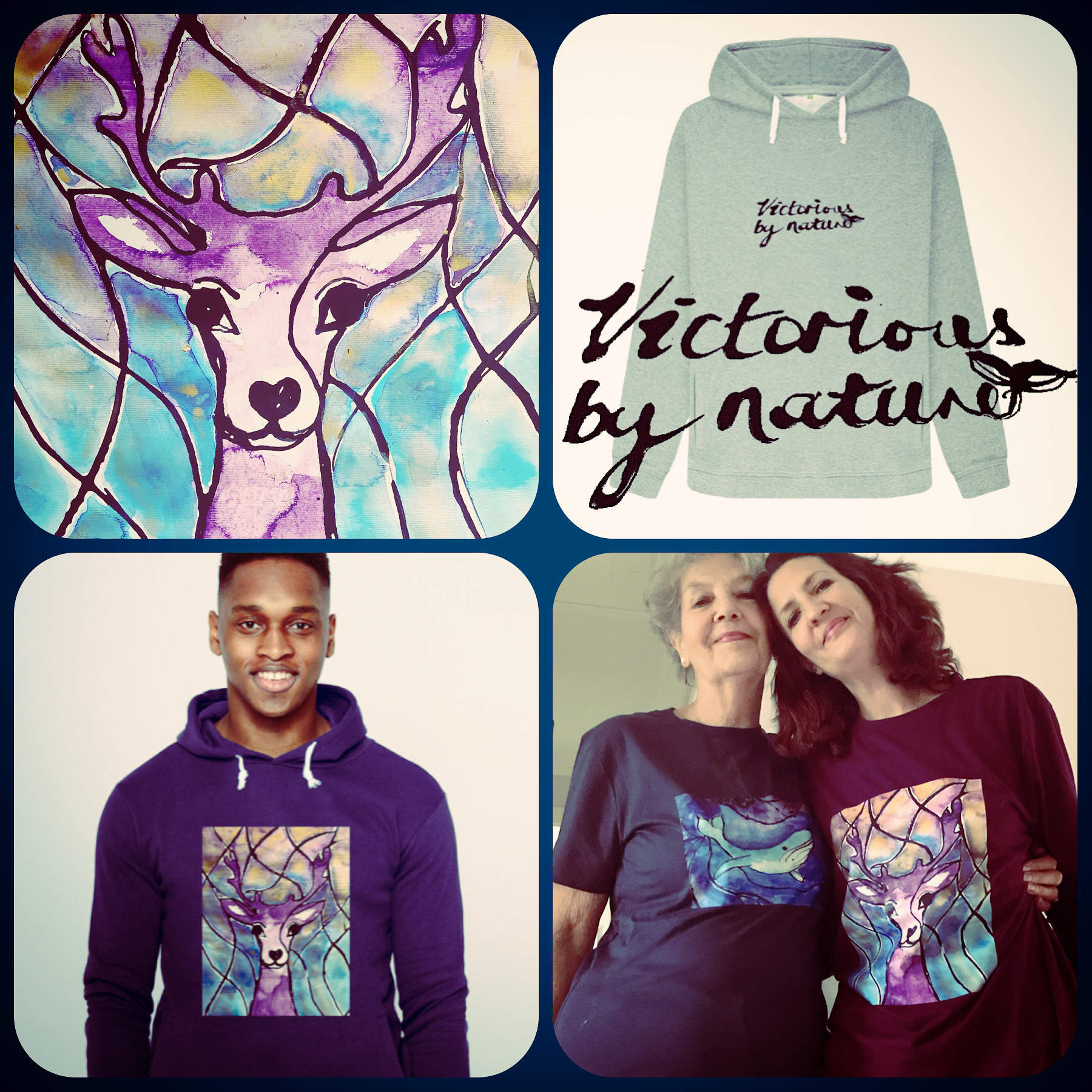 Organic clothing by Victoria Walkden