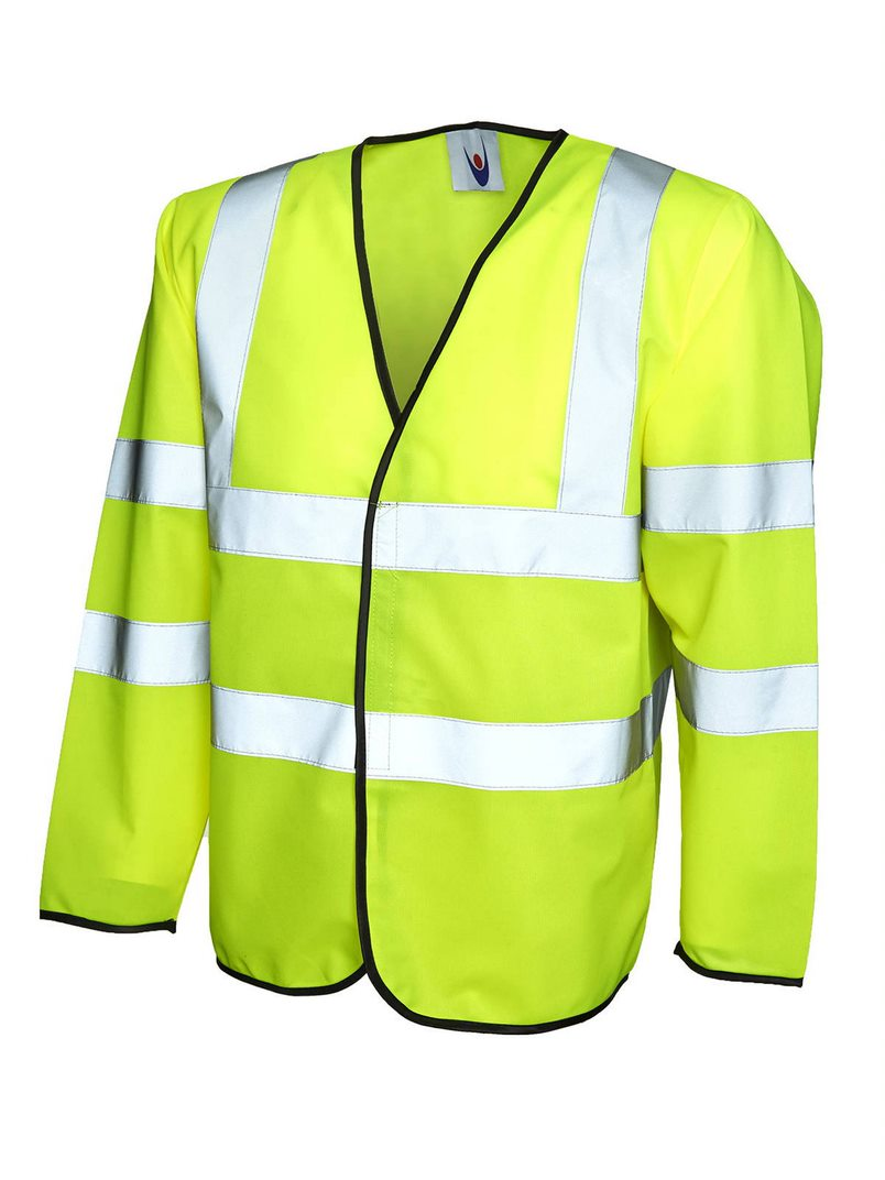 UNEEK UC802 LONG SLEEVED H-VIS VEST