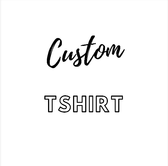 Custom/Personalised Ladies Organic Tshirt