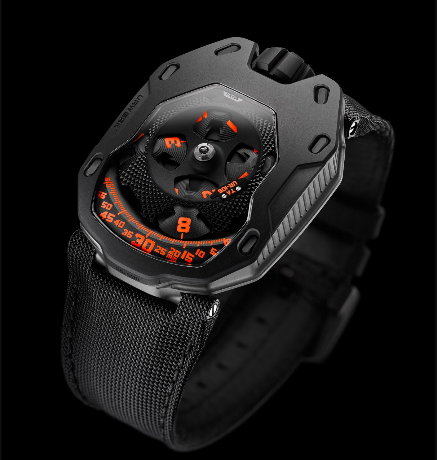Review of Urwerk Clockwork Orange UR105TA