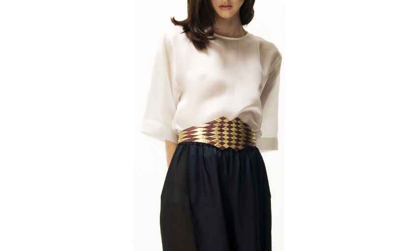 B515WS Jean berry gold_R crop JLYNCH leather belt accessories
