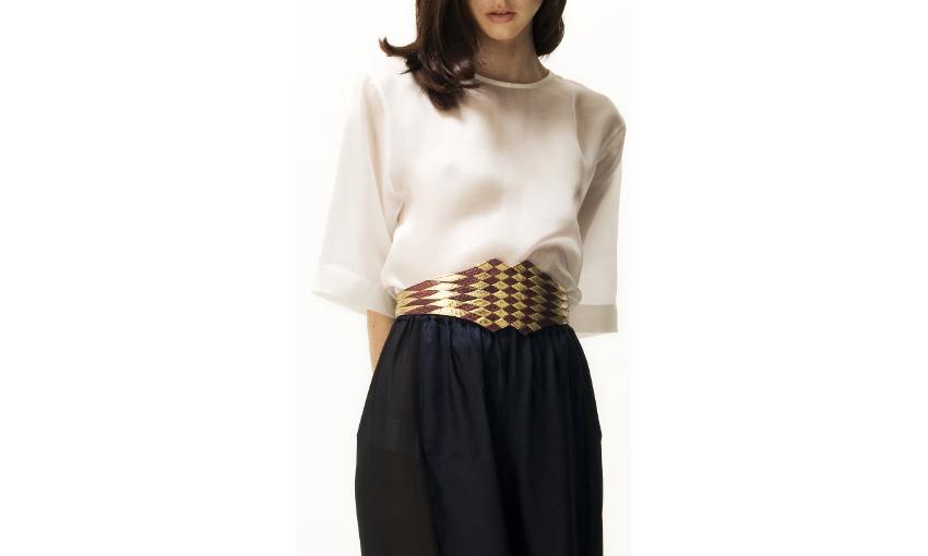 B515WS Jean berry gold_R crop JLYNCH leather belt accessories