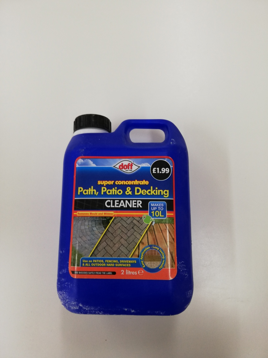 Patio, Path & Decking cleaner (2 litres)