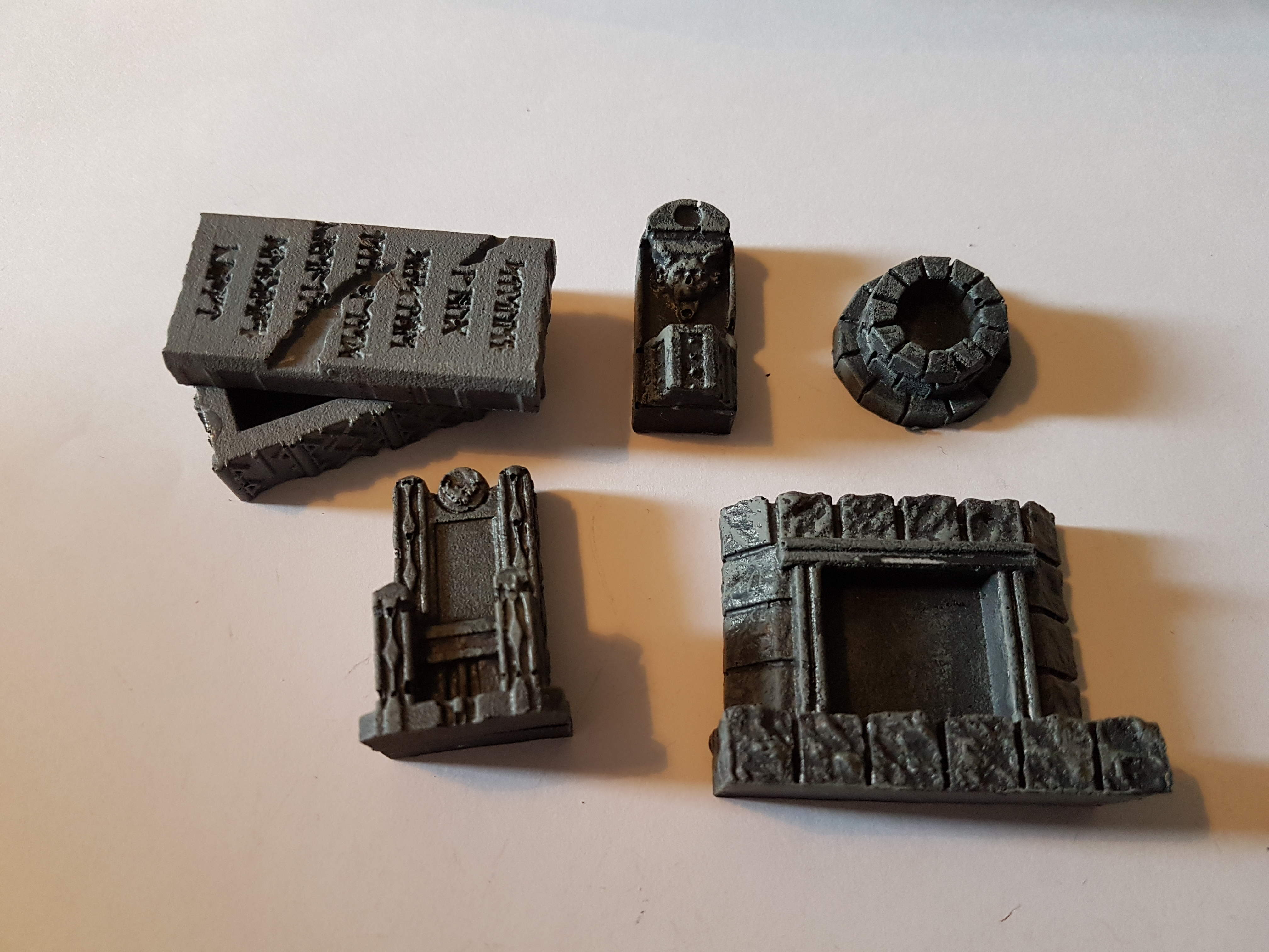 0202 Dungeon Furniture (Stone) Mould