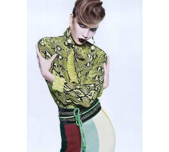 Numero magazine France  JLYNCH luxury belts handmade sustainable leather accessories london british design fashion Karlie Kloss