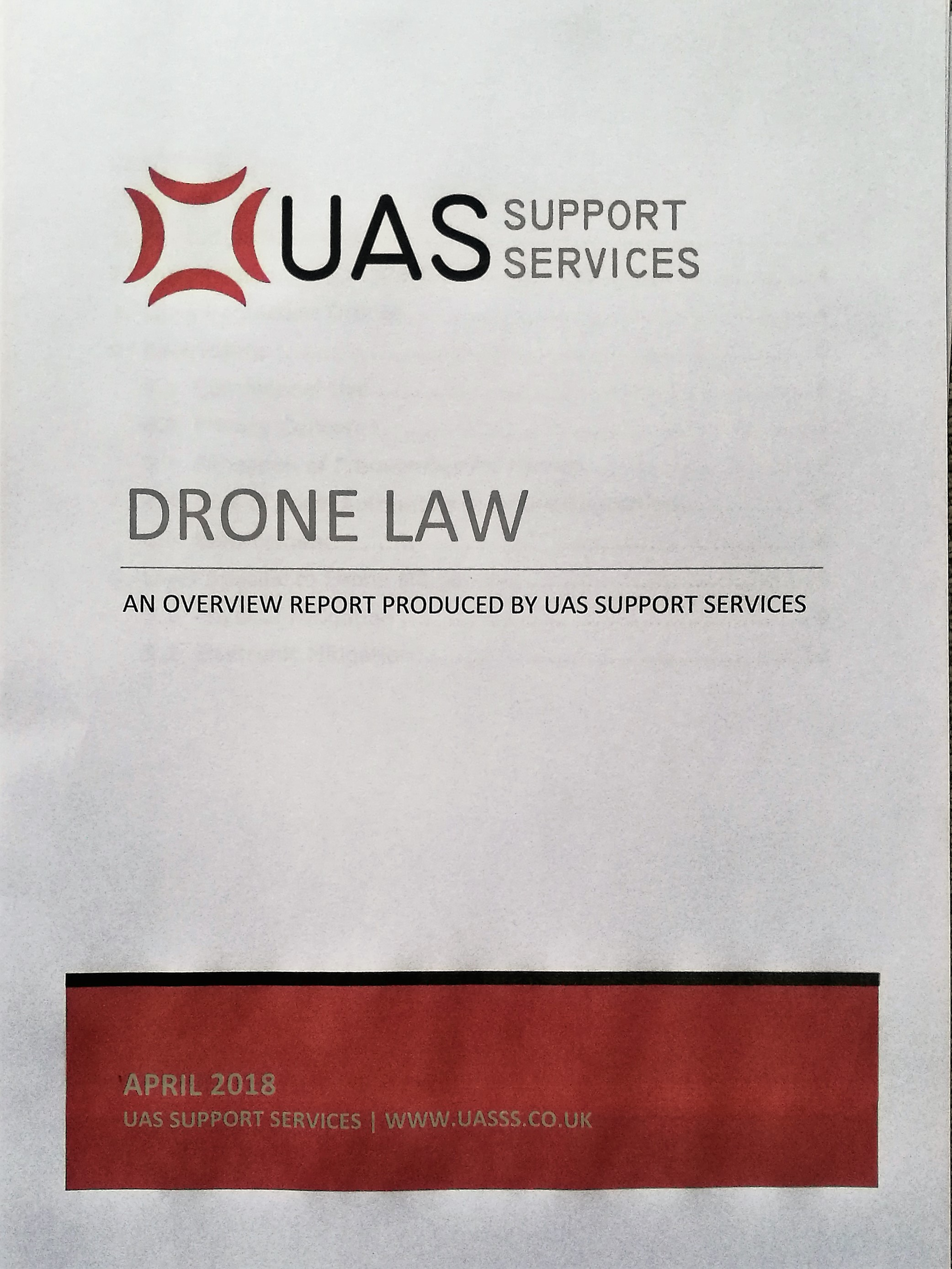 Latest Drone Law Report
