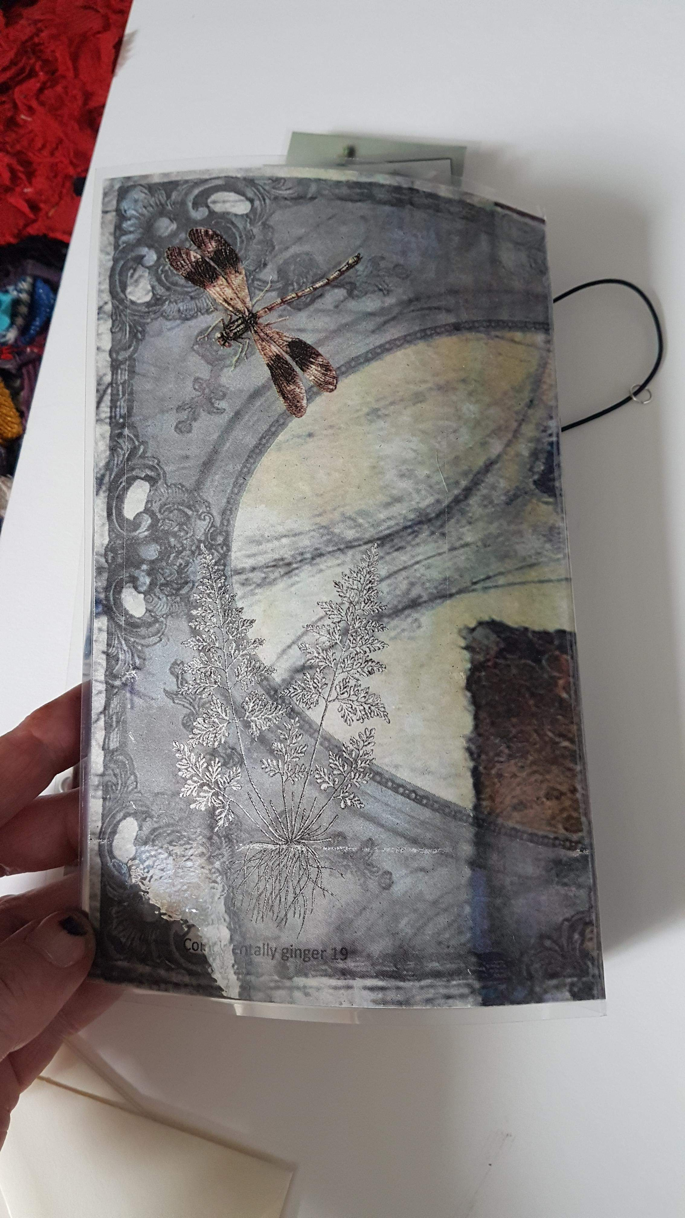 Laminated travellers notebook - Imagine