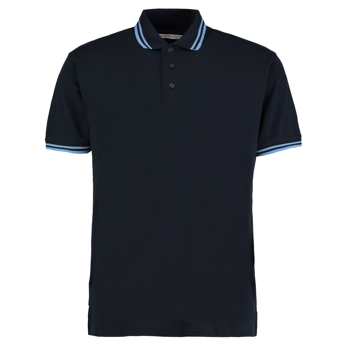 KUSTOM KIT KK409 TIPPED COLLAR POLO SHIRT