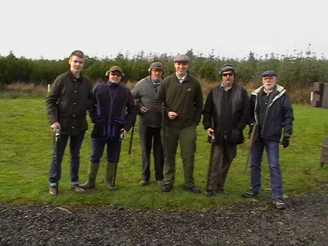 serious squad on skeet ayrshire country sports club