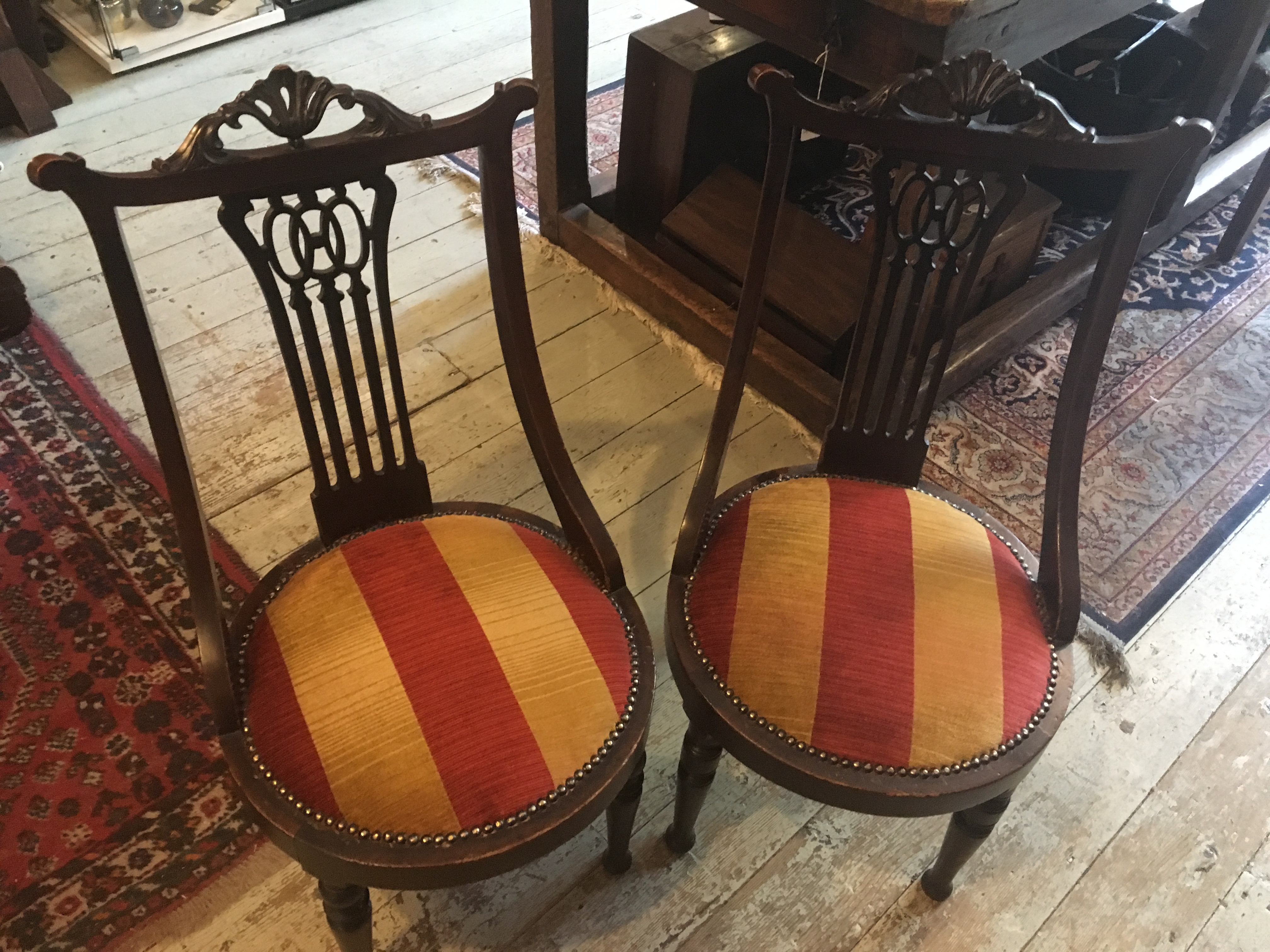 Beautiful Pair Of Bedroom Chairs