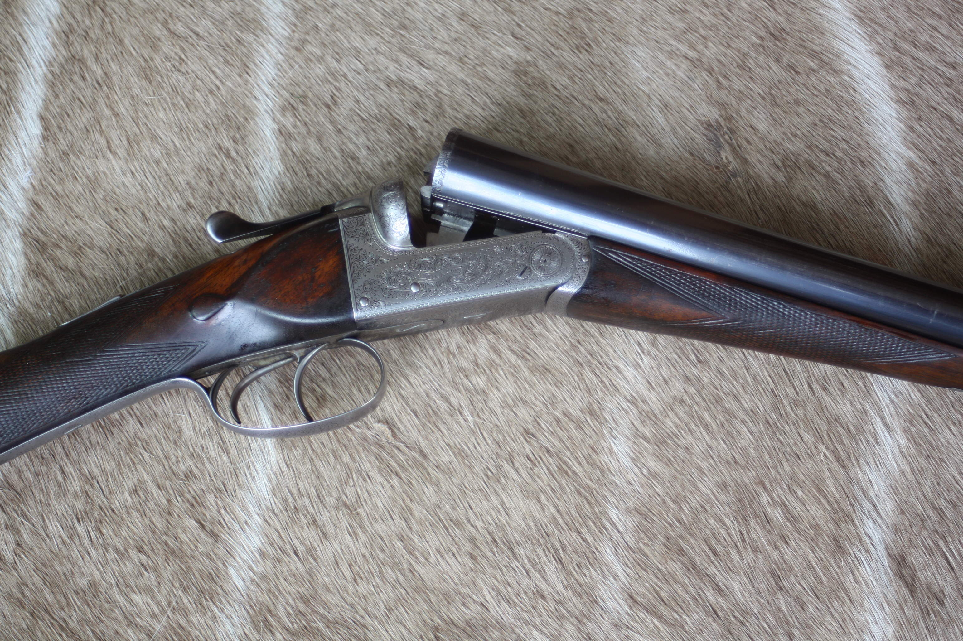 Adkin & Sons, 12ga, side by side