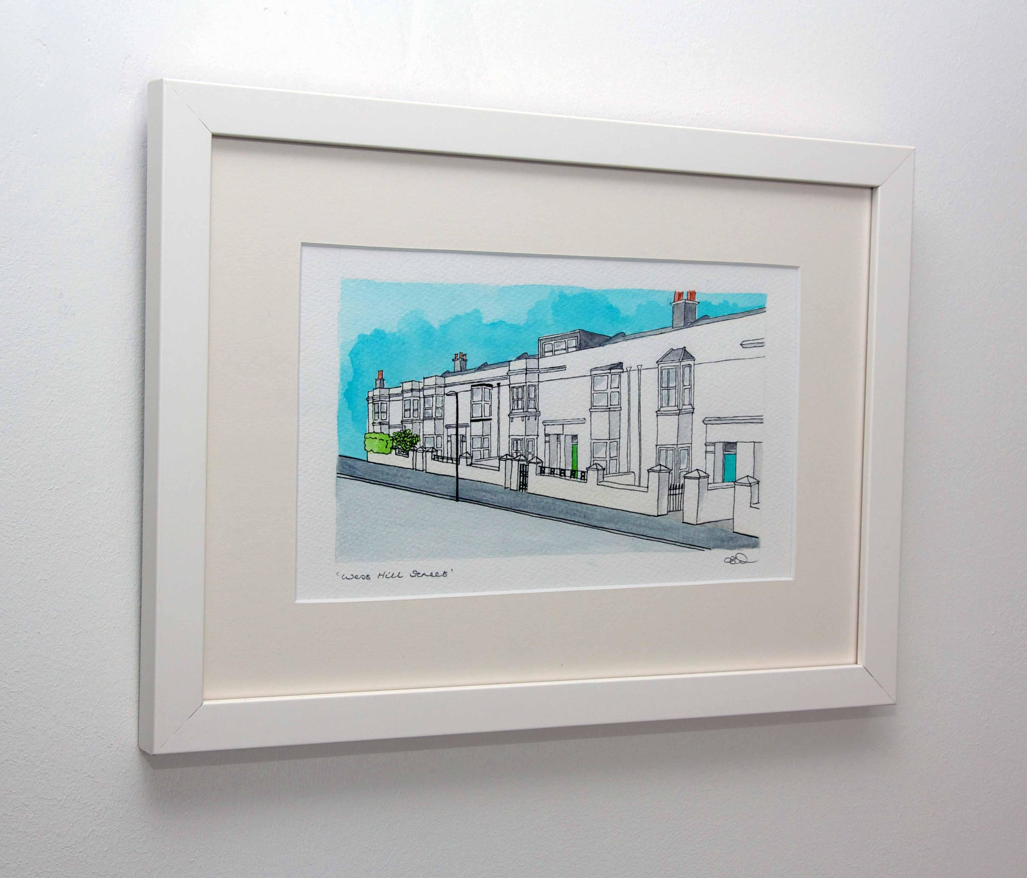 House/Street Portrait - 30x40cm