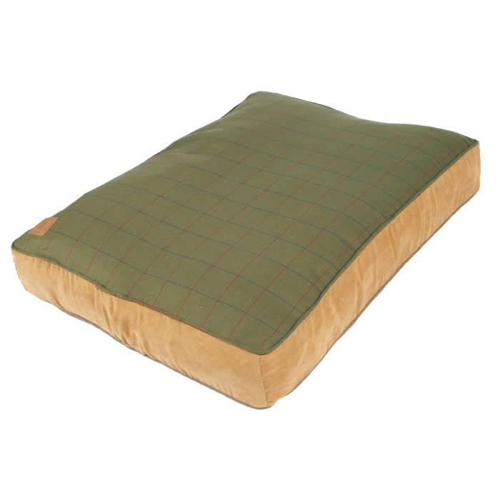 Danish Design Green Tweed Box Duvet Bed