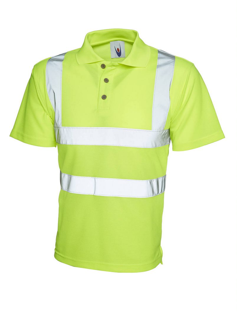 UNEEK UC805 HI-VIS POLO SHIRT