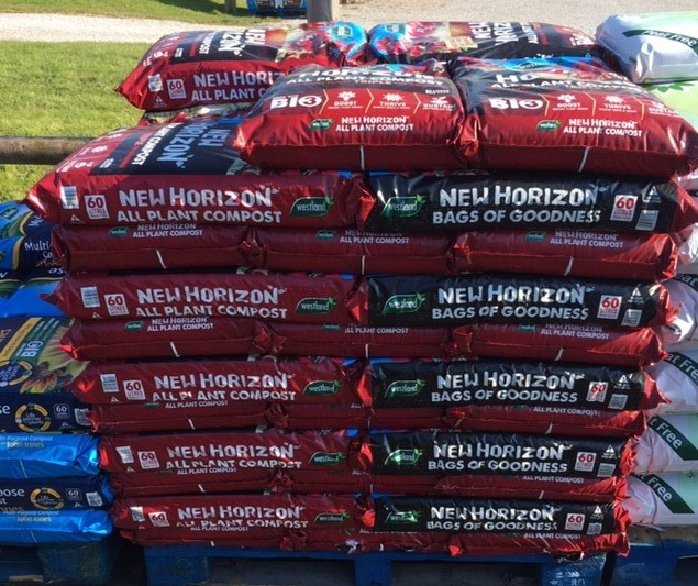 New Horizon Peat Free Compost 60 Ltr £7.00