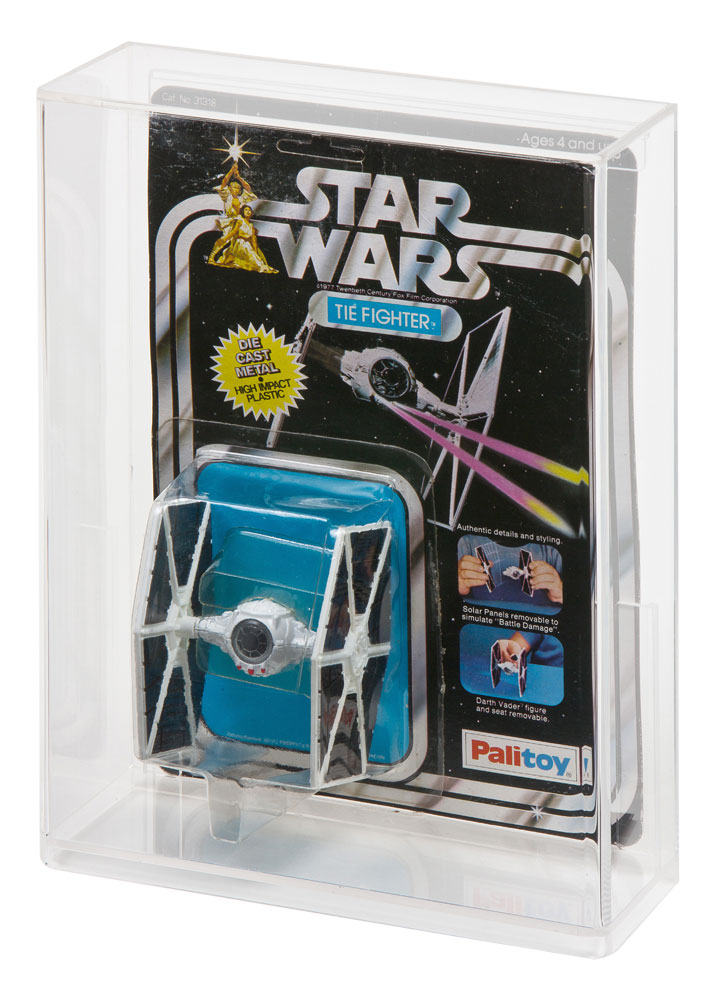 "Star Wars Carded Diecast /""C/"" Acrylic Display Case"