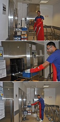 Scilabub Nomex Autoclave Gauntlets In Use At A Hospital