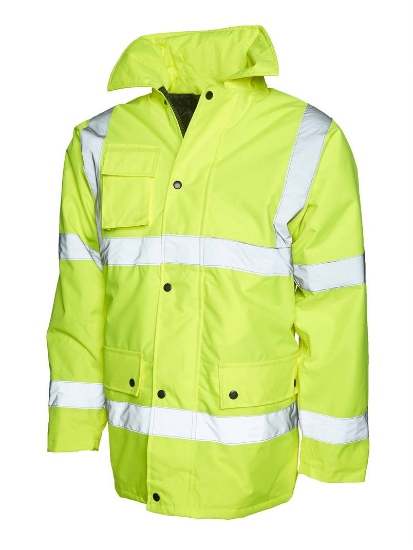 UNEEK UC803 HI-VIS ROAD SAFETY JACKET
