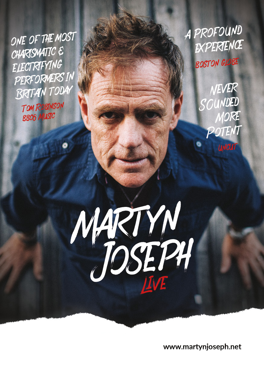Martyn Joseph  - Bristol 1532 Performing Arts Centre - 18th January 2020