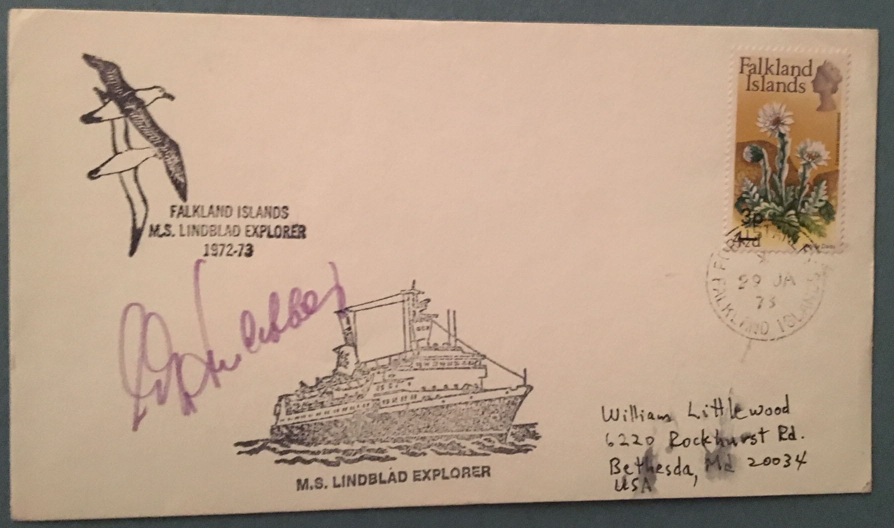 Falkland Islands 1973 LINDBLAD EXPLORER