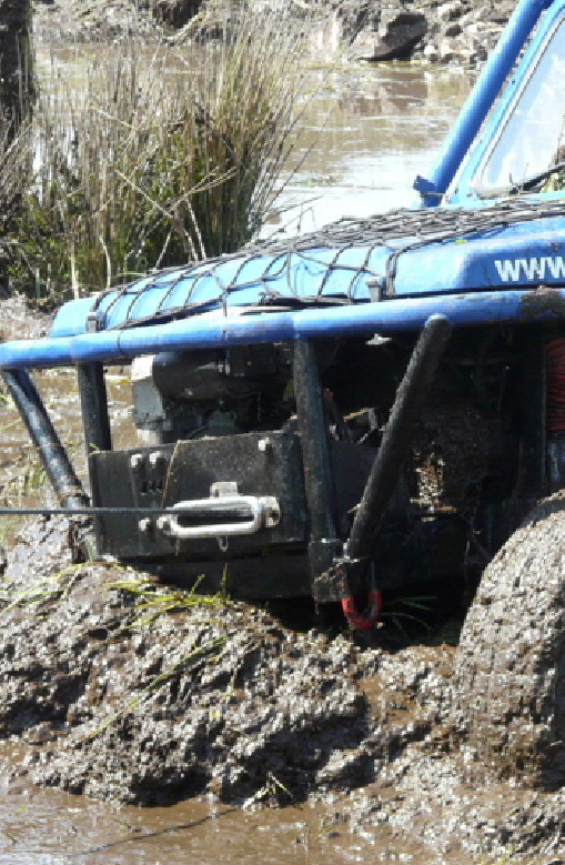 Ae 4x4 Club winch event