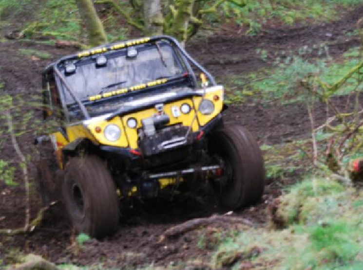 off road car clubs Lockerbie
