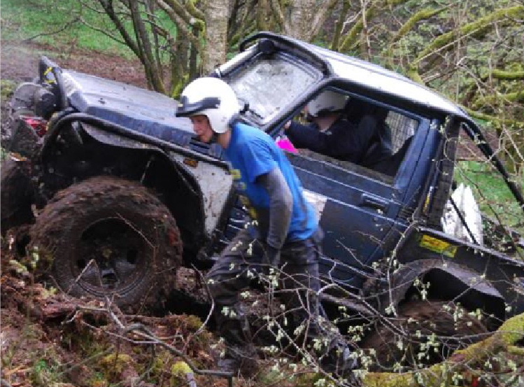 off road clubs Langholm