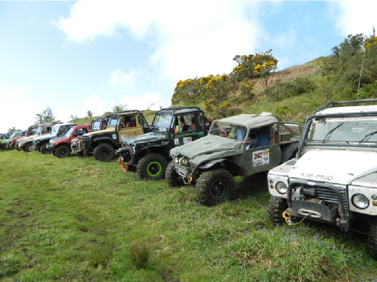 Ae 4x4 Club Mayhem event 2014