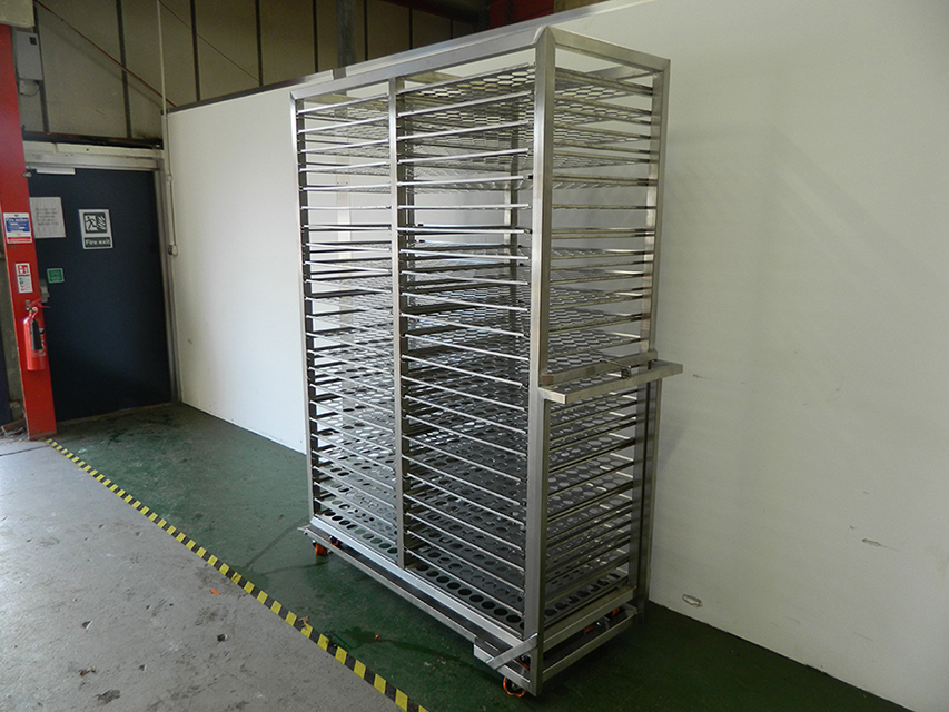 Sterilization trolley
