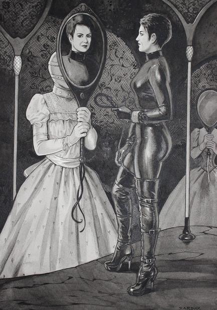 Lady C by the artist Sardax