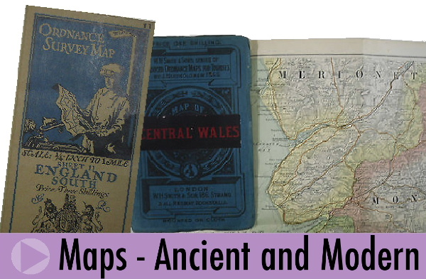 Old and vintage maps sold by Jeremy's Books of Southampton