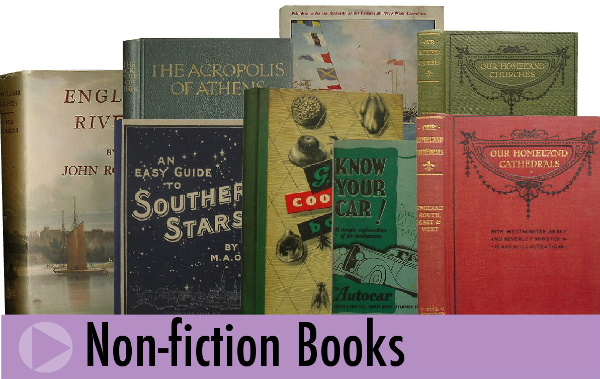 Non-fiction books from Jeremy's Books of Southampton, England