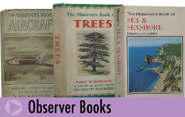 Jeremy's Books sell classic and collectable Observer Books